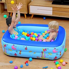 Bể bơi phao cho bé tặng kèm bộ vá phao