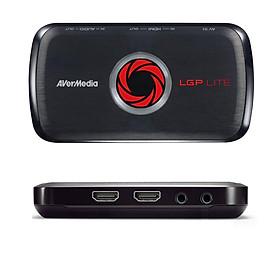Thiết bị chuyển đổi HDMI sang USB AverMedia LGP Lite GL-310 ghi hình máy siêu âm, nội soi, camera hỗ trợ Full HD 1080p - Hàng Chính Hãng