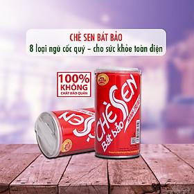 Chè Sen Bát Bảo Minh Trung Lốc 3 lon