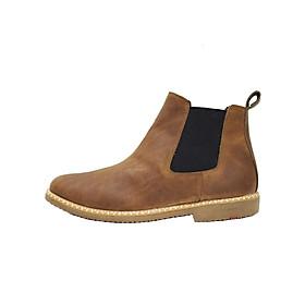 Chelsea Boot da bò thật cao cấp B04