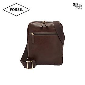 Túi đeo chéo nam thời trang Fossil Haskell Courier MBG9396201 - màu nâu