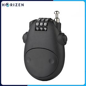 Khóa mũ bảo hiểm, vali bằng mã số dây cáp - Horizen