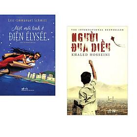 Combo 2 cuốn sách: Một mối tình ở điện Élysée + Người đua diều