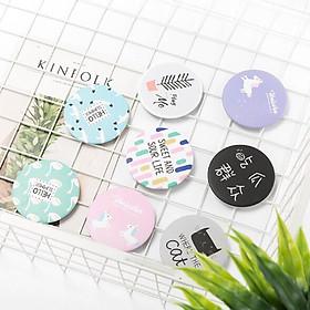 Bông Tẩy Trang Miniso Natural Cotton Pads 1000 Miếng tặng gương trang điểm mini dễ thương tiện dụng-2