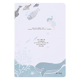 Sổ Bìa Cứng A5 Aysg 50043 (Màu Ngẫu Nhiên)