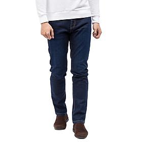 Quần Jeans Nam Cotton Slimfit Vĩnh Tiến JEAN 12 - Xanh Dương Đậm