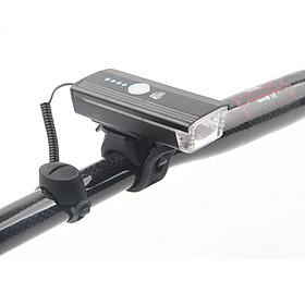 Đèn Còi Xe Đạp DRCKHROS 062 | Sạc USB Chống Nước Mưa, Cảm Ứng Ánh Sáng Tự Bật Đèn Khi Tối | Độ Sáng 300 Lumen - Âm Vang Còi 140dB | Pin 1200 mah | Sáng Liên Tục 15 Giờ