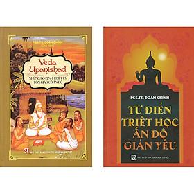 Combo 2 Cuốn: Từ Điển Triết Học Ấn Độ Giản Yếu + Veda Upanishad - Những Bộ Kinh Triết Lý Tôn Giáo Cổ Ấn Độ