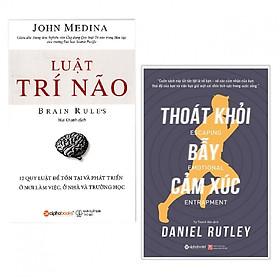 Bộ Sách Khám Phá bản Thân ( Luật Trí Não + Thoát Khỏi Bẫy Cảm Xúc ) (Tặng kèm Tickbook)