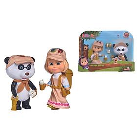 Đồ Chơi Búp Bê MASHA AND THE BEAR Masha Scout 109301056 - Đồ Chơi Chính Hãng