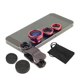 Combo 3 ống Lens cao cấp đa năng cho Camera điện thoại
