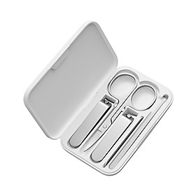 Xiaomi Mijia Nail Clippers Set Stainless Steel Trimmer Pedicure Care Clippers Earpick Nail File Professional Beauty