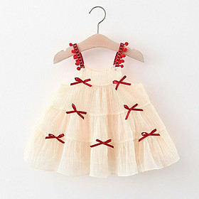 Váy voan tơ đầm công chúa cao cấp cho bé gái sang chảnh 8-20kg
