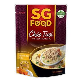 Cháo Tươi Thịt Thăn Bằm Bí Đỏ SG Food (270g)
