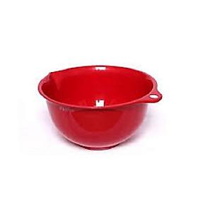 Bộ 3 thau lót có tai treo 3,5L màu đỏ Nội địa Nhật Bản