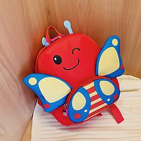 Balo cho bé gái hình bướm cánh lớn cao cấp thời trang
