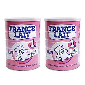 Combo 2 hộp Sữa bột France Lait số 1 (900g) -  Dinh dưỡng cho trẻ từ 0 -6 tháng tuổi.