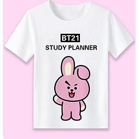 Áo thun BTS BT21 COOKY Study Planner