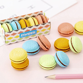 Bộ 5 Gôm Tẩy Bút Chì Bánh Macarons