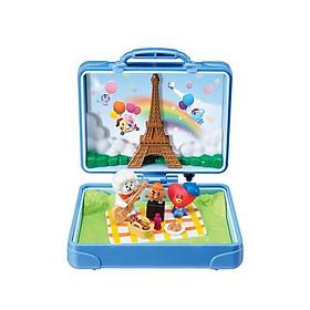 Bộ đồ chơi kỉ niệm BT21 du lịch Pháp