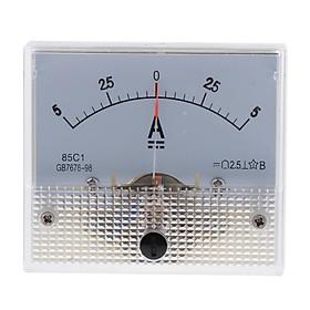 DC Ammeter Analog Panel Meter Amp Meter Current Gauge 85C1