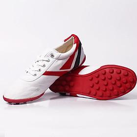 Giày vải đinh Thượng đình đá bóng màu trắng BD16