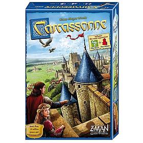 Đồ Chơi Board Game Carcassonne - Vùng Đất Trù Phú Tiếng Anh Bản Chuẩn Chất Lượng Cao