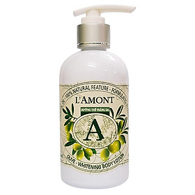 Sữa Dưỡng Thể L'amont En Provence Olive Whitening Body Lotion Chai 250ml