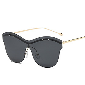 Sun Glasses Sunglasses High Quality PC Frameless Outdoor Festivals