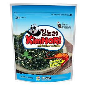 Combo 3 Gói Tảo biển ăn liền Kimnori Vị Hải Sản (40g / Gói)