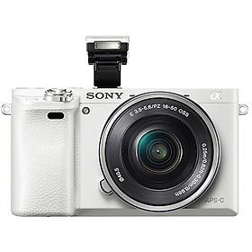 Máy ảnh Sony A6000 Trắng | Kit 16-50 | Chính hãng