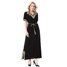 Đầm Dài Cho Phụ Nữ Hồi Giáo