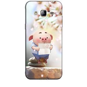 Ốp lưng nhựa cứng nhám dành cho Samsung Galaxy J3 2016 in hình HEO BIẾT ĐỌC