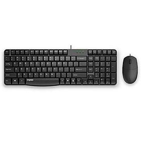Set bàn phím và chuột có dây N1820 - Rapoo