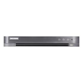 Đầu Ghi Hình Hikvision 4 Kênh HD-TVI 5.0 Mega Pixel Có Hỗ Trợ Cổng Alarm DS-7204HUHI-K1 - Hàng Nhập Khẩu