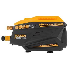 Máy phun xịt rửa xe áp lực cực cao TOLSEN 79575 2000W ( Mô tơ từ)- Hàng chính hãng (Tặng thêm 5m dây cấp nước Total THPH2001)