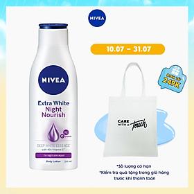 Sữa Dưỡng Thể Trắng Da Nivea Ban Đêm 250ml - 88125
