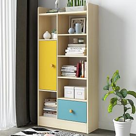 Giá để sách bằng gỗ, kệ sách, tủ sách  MGK012
