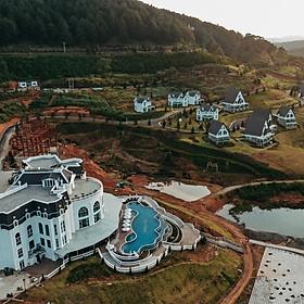Đà Lạt Wonder Resort 4* - Buffet Sáng, Hồ Bơi Vô Cực, Xe Đưa Đón