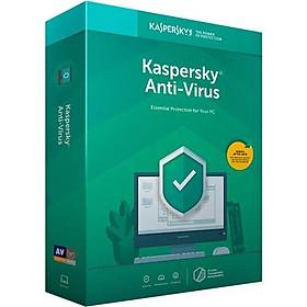 Phần Mềm Diệt Virus Kaspersky Antivirus (KAV) - 1 User - Hàng chính hãng