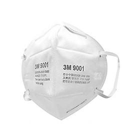 (Quà tặng) Khẩu Trang 3M 9001 Lọc 90% Bụi Mịn PM2.5 & Khí Thải Chuẩn N90- 1 cái