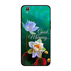 Ốp lưng dành cho điện thoại Oppo R7S in họa tiết Good morning