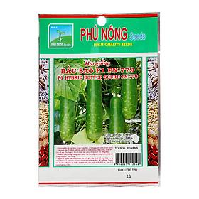 Hạt giống bầu sao F1 Phú Nông PN-799 (1g/gói)