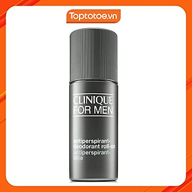 Lăn Khử Mùi Cho Nam Clinique For Men Antiperspirant-Deodorant Roll-on 75ml