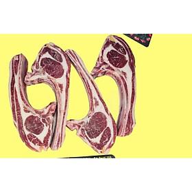 Sườn cừu Úc cắt nướng-Lamb rack Aus