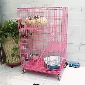 Lồng Mèo Nan Thường 3 Tầng