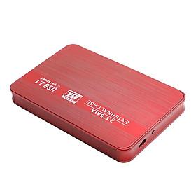 """USB3.1 500 GB / 1T / 2T 2.5 """"red External Case Super Ultra Slim"""