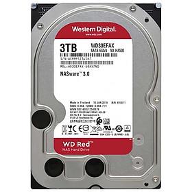 Ổ Cứng HDD NAS WD Red 3TB/64MB/5400/3.5 256MB Cache - WD30EFAX - Hàng chính hãng