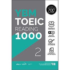 YBM Actual Toeic Tests RC 1000 - Vol 2
