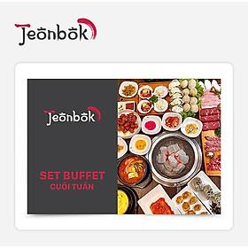 Jeonbok - Set Buffet Cuối Tuần